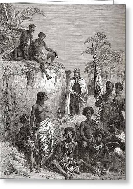Hawaiian King Kamehameha I, C.1758 To Greeting Card