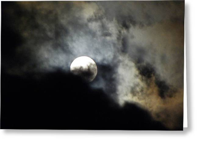 Hawaiian Moon Greeting Card by Elizabeth Hoskinson