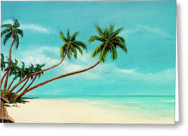 Hawaiian Prime Real Estate  #284 Greeting Card by Donald k Hall