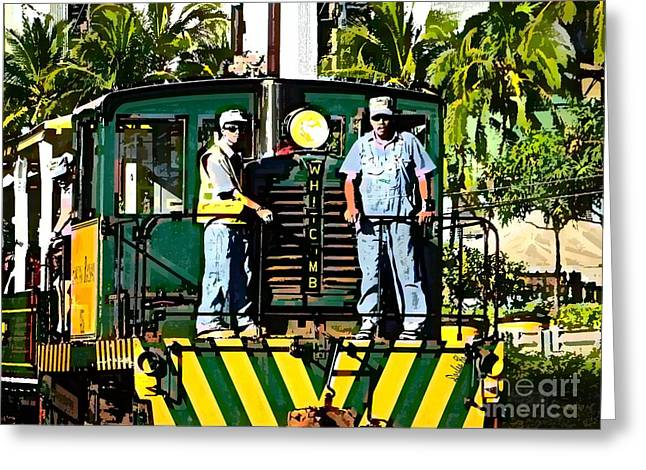 Hawaiian Railway Greeting Card