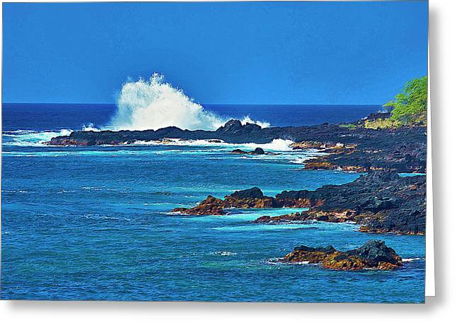 Hawaiian Seascape Greeting Card