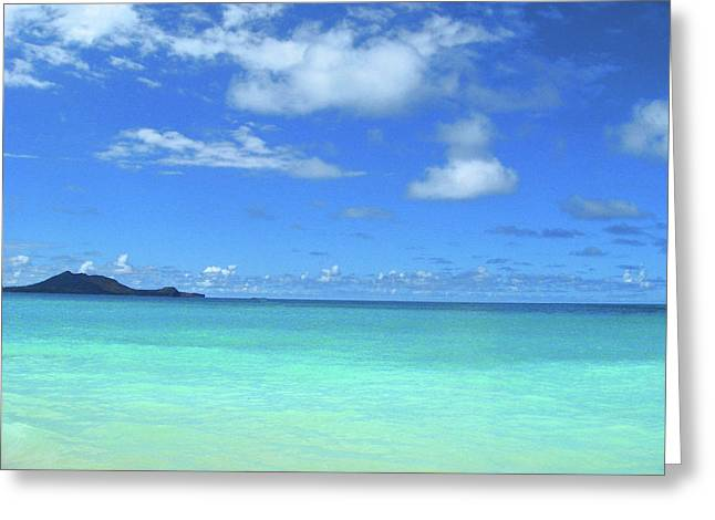 Hawaiian Waters Greeting Card