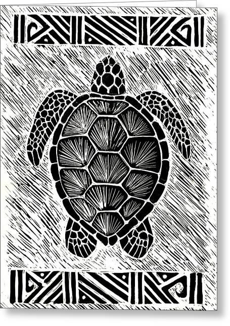 Hawaiiana Honu Greeting Card