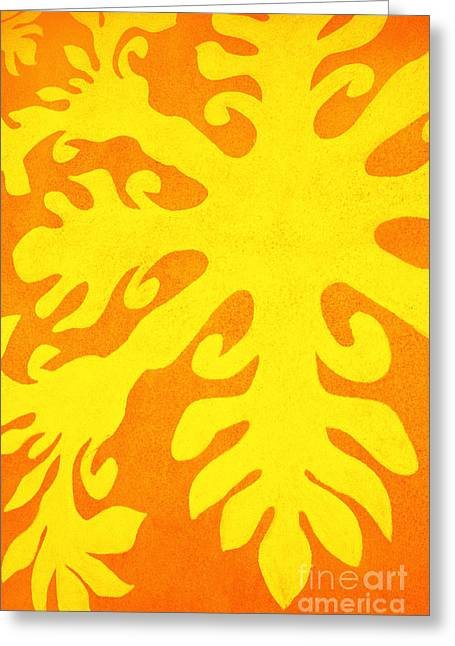 Hawaiiana Pattern Greeting Card