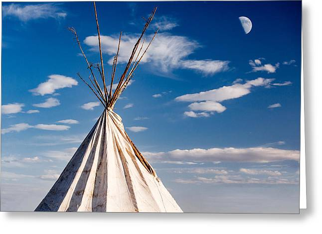 Hawi Tipi Greeting Card by Todd Klassy