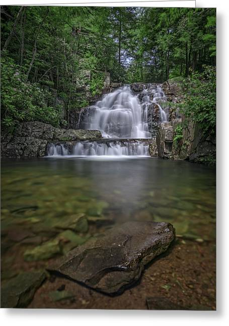 Hawk Falls Greeting Card