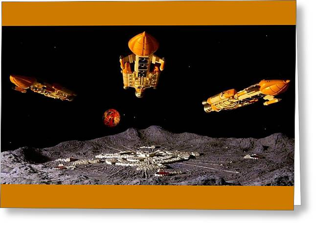 Hawk Fleet Greeting Card