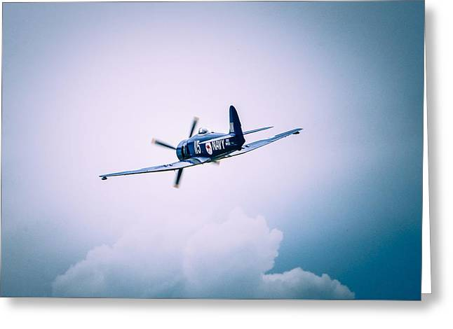 Hawker Sea Fury Fb11 Greeting Card