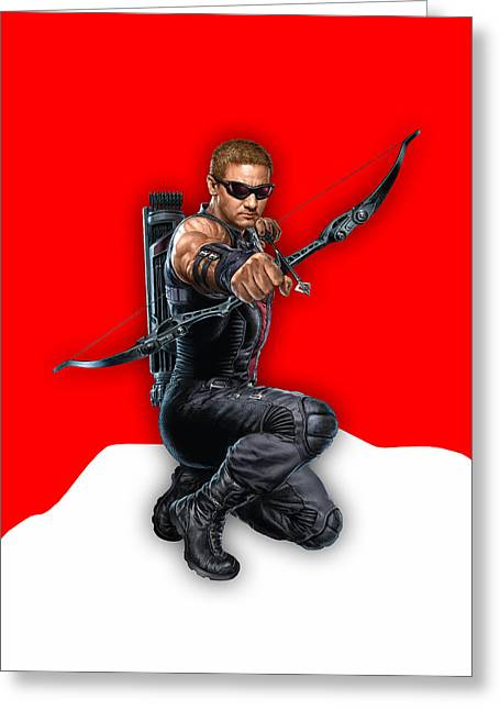 Hawkeye Collection Greeting Card