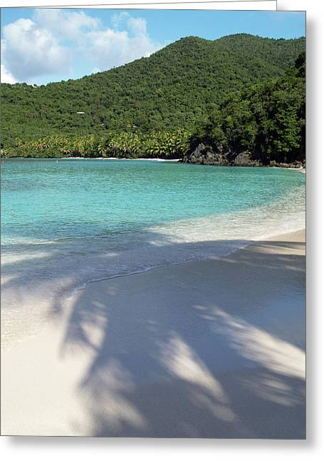 Hawksnest Bay And Gibney Beach Greeting Card