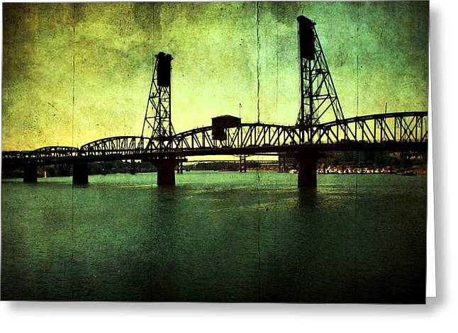 Hawthorne Bridge Greeting Card