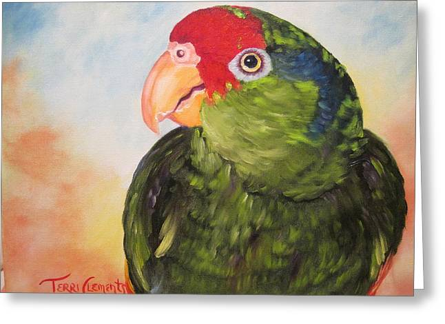 Hawthorne Greeting Card by Terri Clements