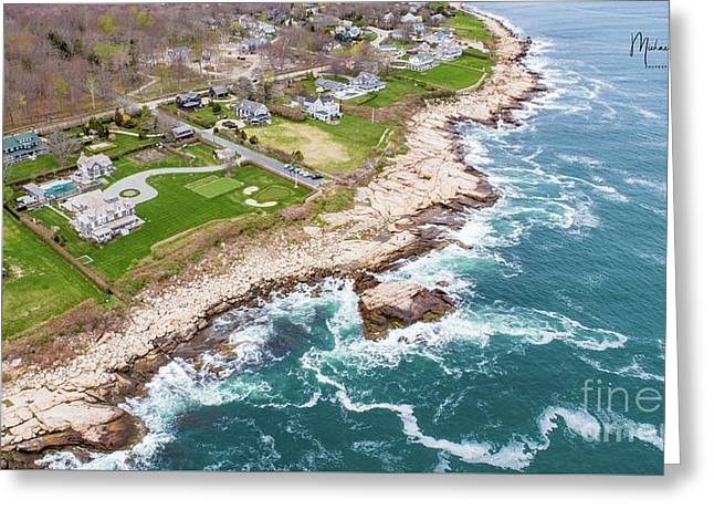 Hazard Rocks, Narragansett  Greeting Card