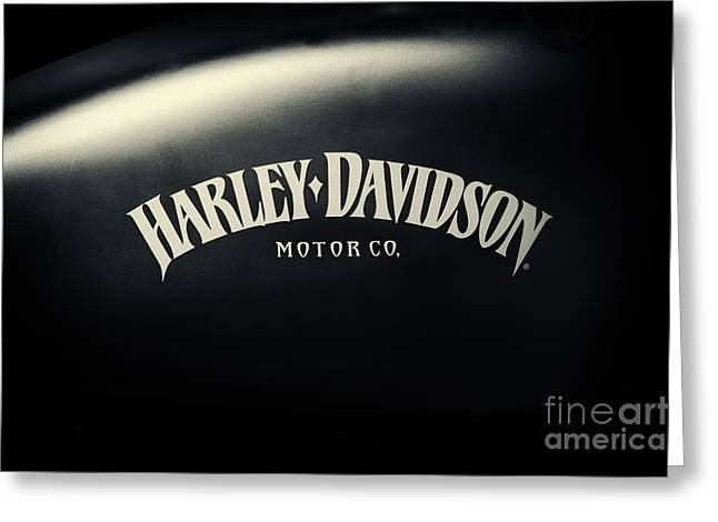 Hd Iron 883 Gas Tank Greeting Card