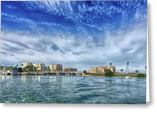 Hdr Clearwater Florida Greeting Card