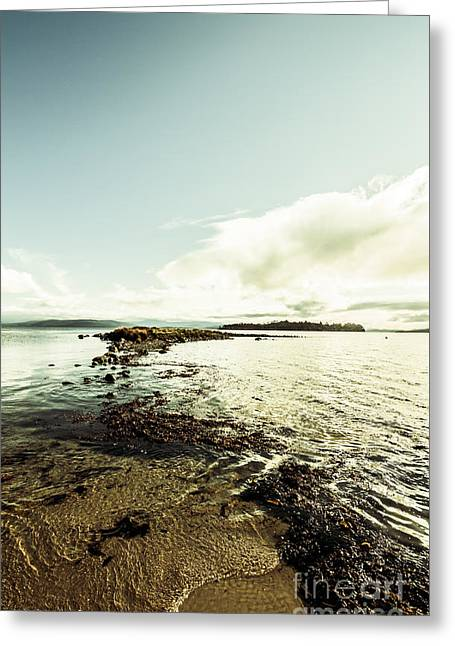 Hdr Island Scenery Greeting Card by Jorgo Photography - Wall Art Gallery