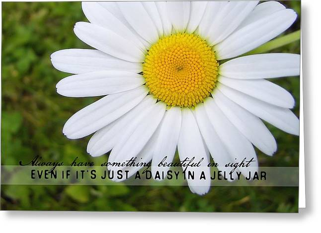 He Loves Me Quote Greeting Card by JAMART Photography