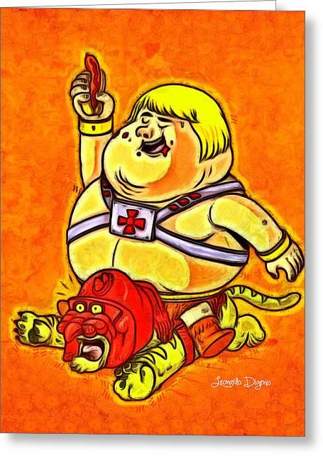 He-man Greeting Card