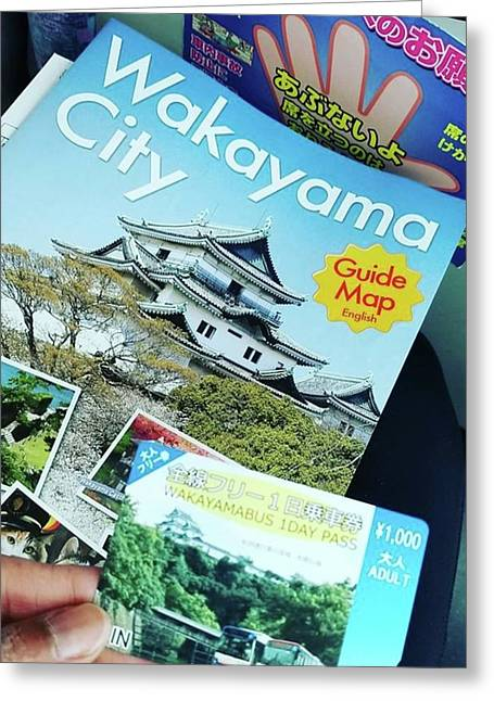 Headed To Wakayama Castle!! This Has Greeting Card