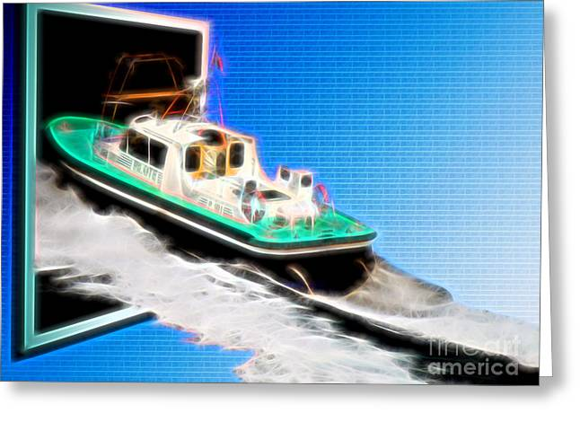 Heading Back To Sea Greeting Card by Sue Melvin