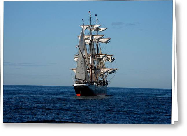 Heading Out To Sea Greeting Card by Keith Bassolino