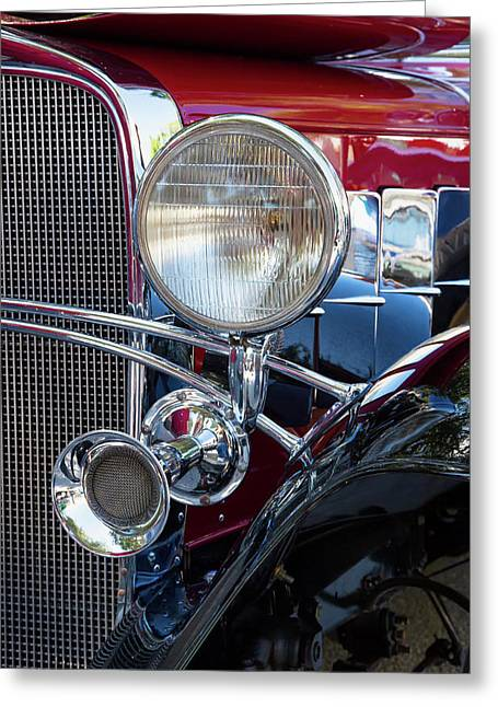 Headlight And Horn Greeting Card