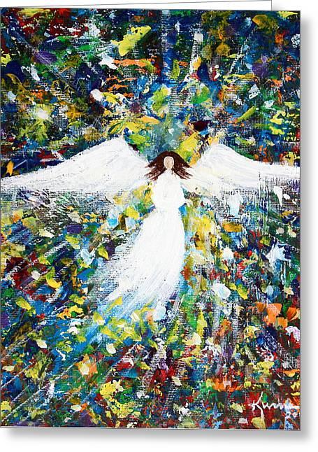Healing Angel 1 Greeting Card