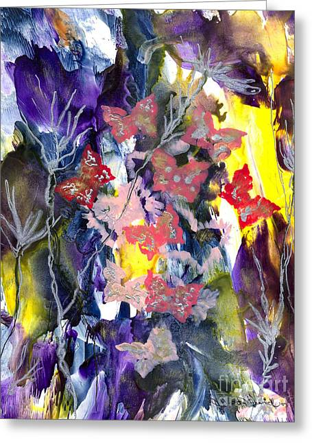 Healing Breath For  Eve Greeting Card by Heather Hennick