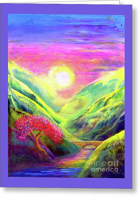 Healing Light Greeting Card
