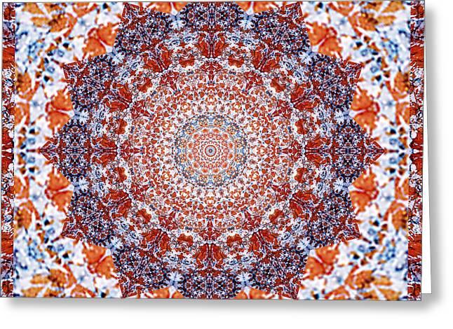 Healing Mandala 2 Greeting Card
