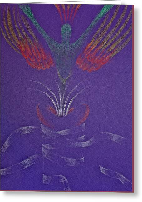 Healing Greeting Card by Michele Myers