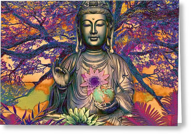 Healing Nature Greeting Card
