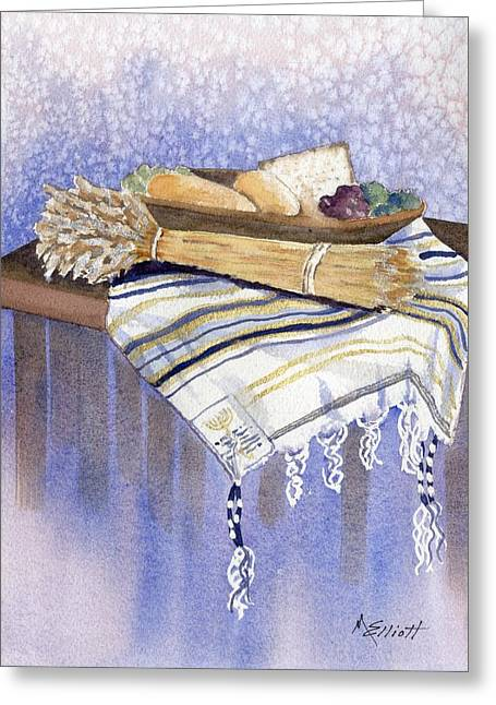 Hear O Israel Greeting Card by Marsha Elliott