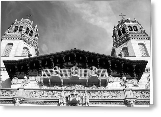 Hearst Castle Towers Greeting Card
