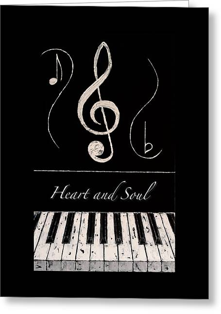 Heart And Soul Greeting Card