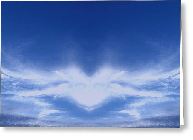 Heart Cloud Greeting Card