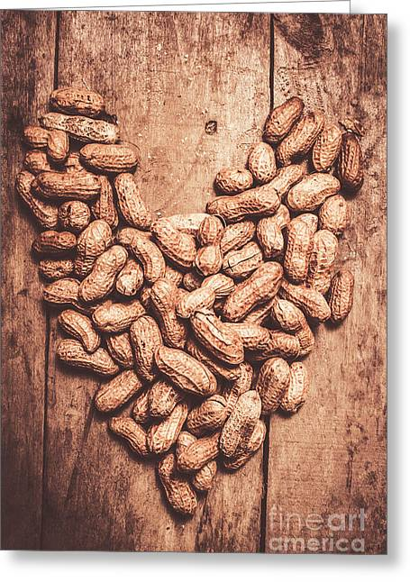 Heart Health And Nuts Greeting Card by Jorgo Photography - Wall Art Gallery