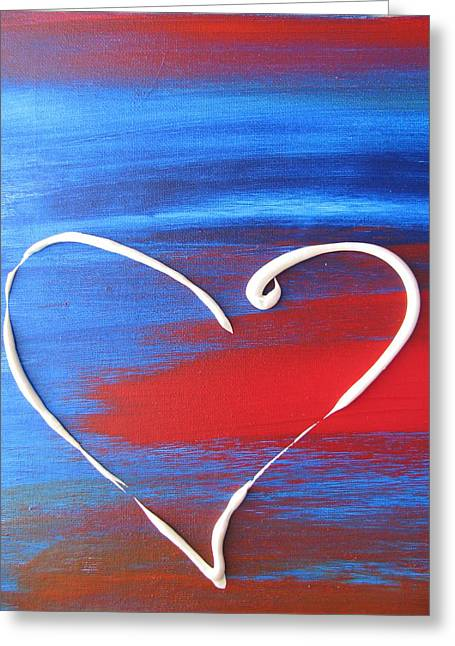 Heart In Motion Greeting Card