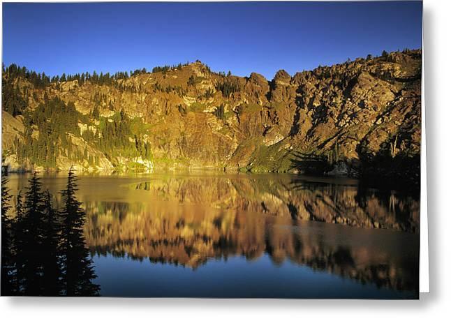 Heart Lake Greeting Cards - Heart Lake Greeting Card by Leland D Howard
