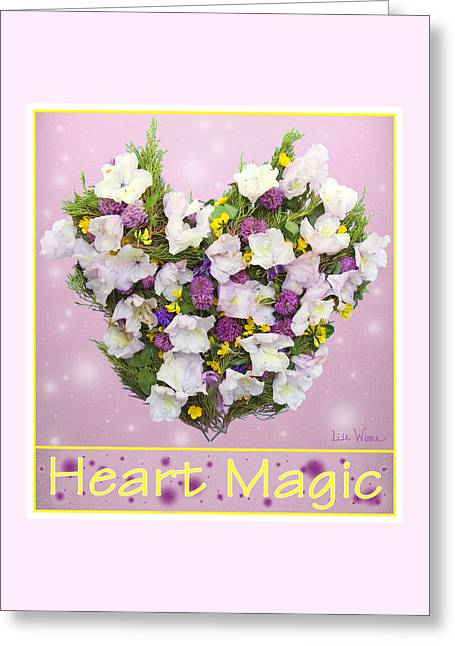 Heart Magic Greeting Card by Lise Winne