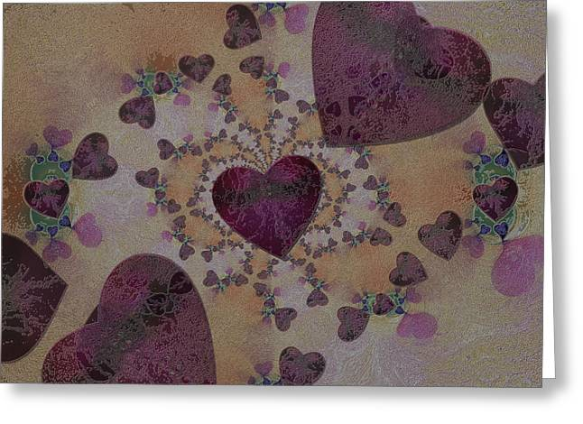 Heart Mix Greeting Card