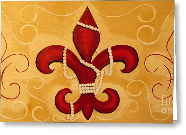 Heart Of New Orleans Greeting Card