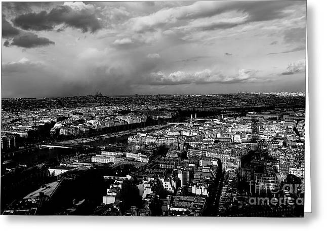 Paris 3 Greeting Card