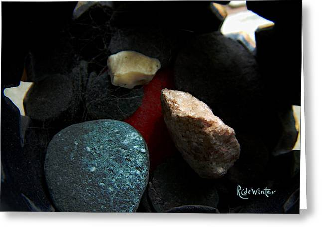 Greeting Card featuring the photograph Heart Of Stone by RC DeWinter