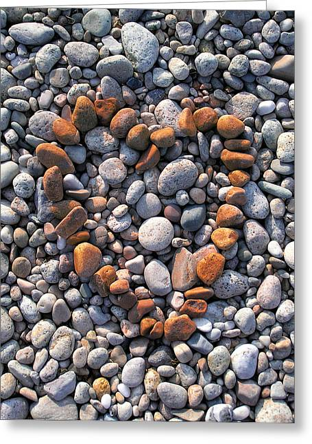 Heart Of Stones Greeting Card