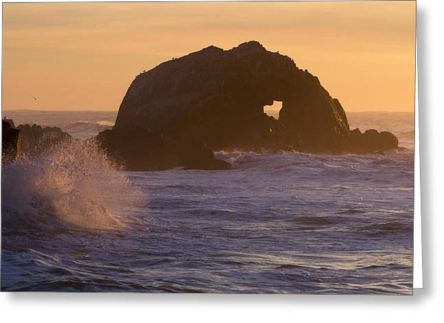 Greeting Card featuring the photograph Heart Of The Ocean by Nathan Rupert