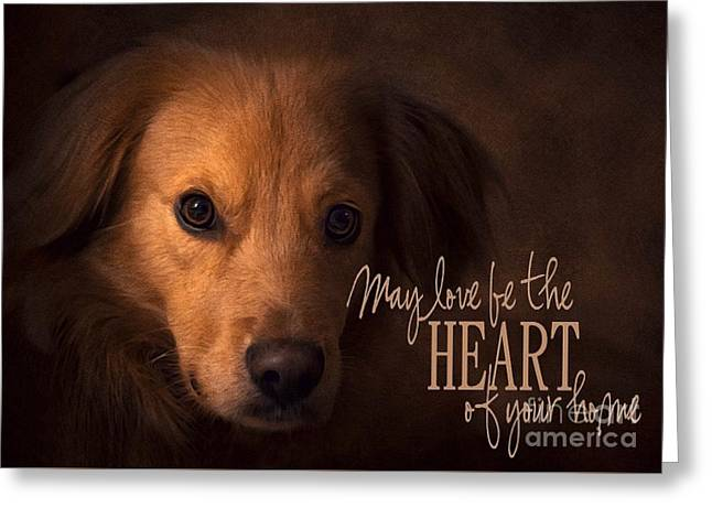 Heart Of Your Home  Greeting Card
