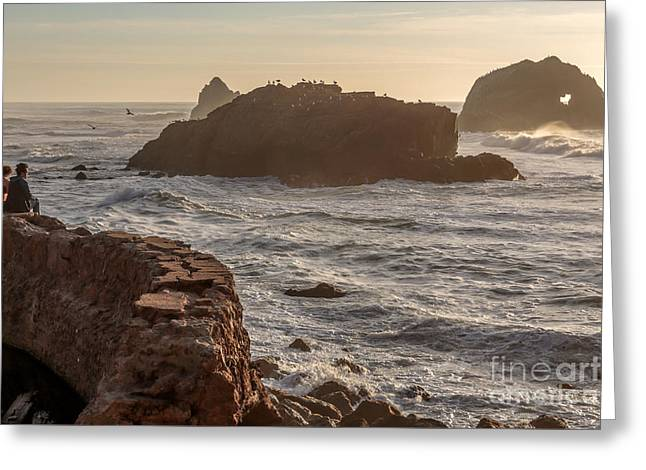 Heart Rock Greeting Card by Kate Brown