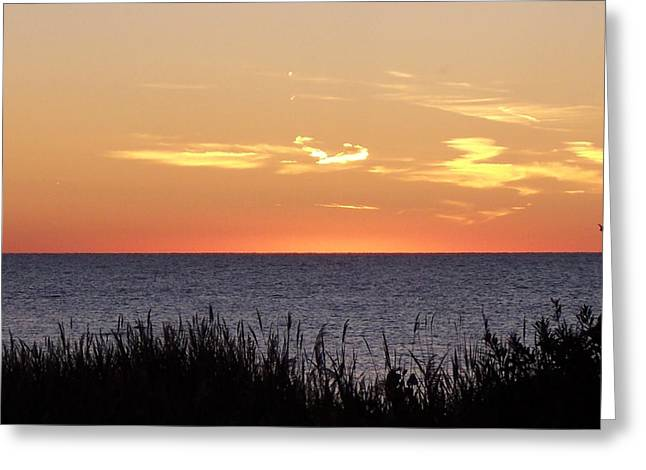 Heart Sunset Greeting Card