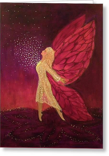 Heart Wings II Greeting Card